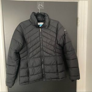 Columbia Jacket, Black, Size M